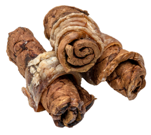 Angus Beef Lung Tip Roll with Trachea Wrap - 4 pack