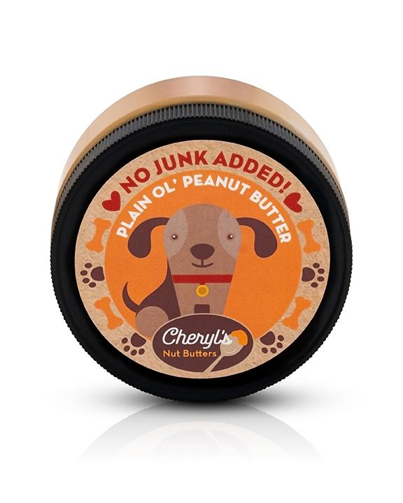 Plain Ol' Creamy Peanut Butter for Dogs - 8 oz